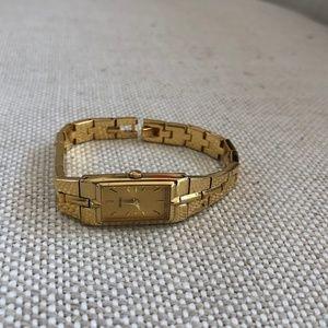 Seiko Goldtone Slim Watch 2E20-0AY0